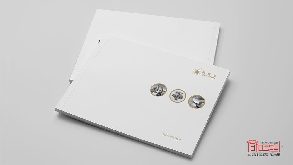 腾信堂投资管理咨询公司画册设计