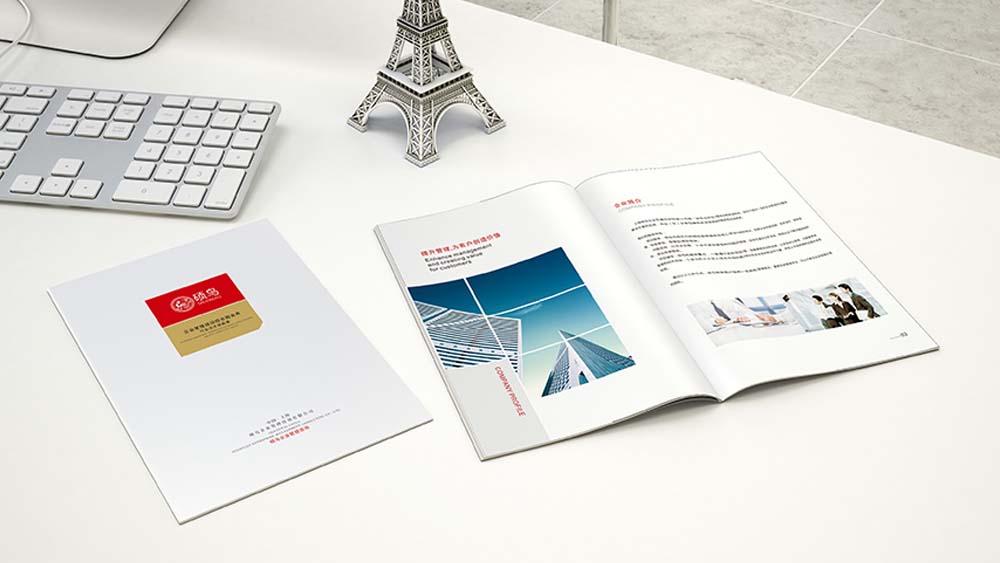 硕鸟企业管理咨询画册设计